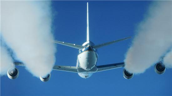 ▲나사는 최근 바이오연료를 이용한 비행 실험을 진행하고 있다.[사진제공=NASA]