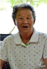 박옥선 할머니.