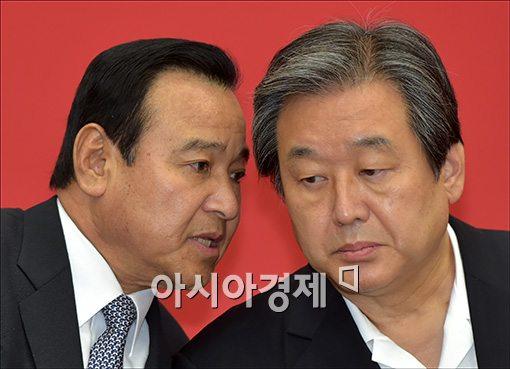 [포토]의견 나누는 김무성·이완구