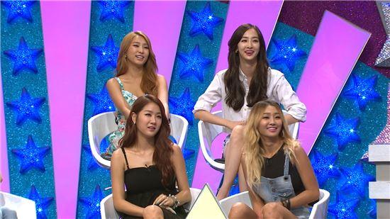 '별바라기' 씨스타 멤버들 /MBC 제공