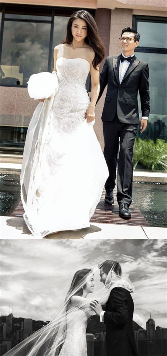탕웨이-김태용 부부(사진제공=영화사 봄)