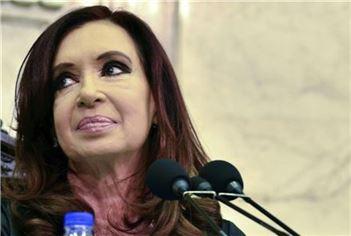 크리스티나 페르난데스 아르헨티나 대통령(사진: 블룸버그)