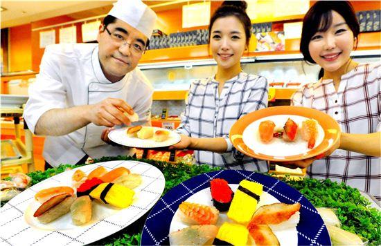 홈플러스가 고시히카리초밥을 출시한다.