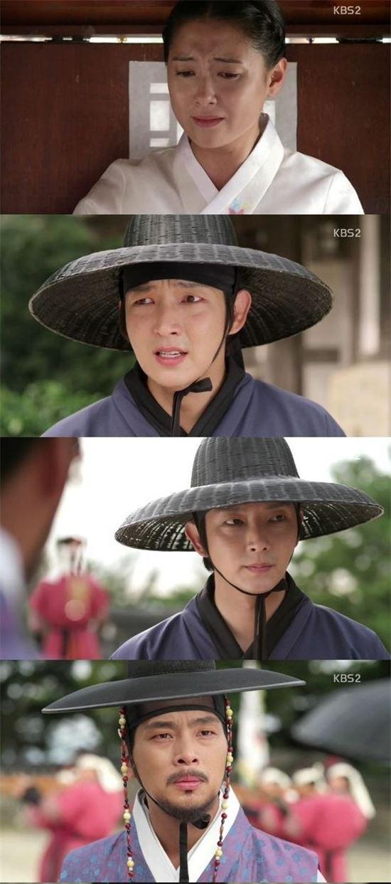 28일 오후에 방송된 KBS2 수목드라마 '조선총잡이'/해당 방송 캡처