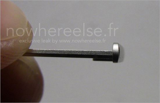 최근 유출된 아이폰6의 부품사진. <사진출처:노웨어엘스>