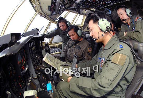 공군이 한미연합교환훈련을 하고 있다. (사진제공=공군)