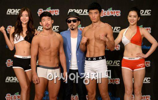 [포토]김창현-김석모,'라이트급 한판 승부 기대하세요'