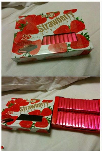 일본 초콜릿 [사진=온라인 커뮤니티 캡처]