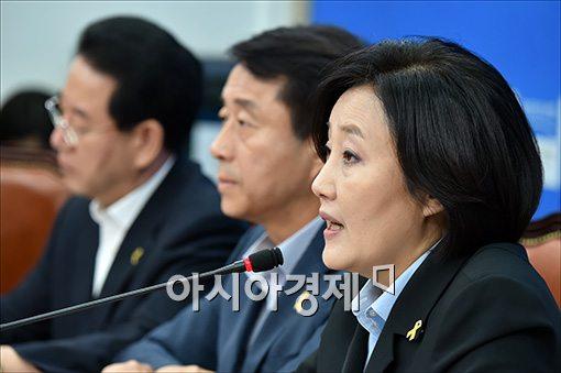 박영선 새정치민주연합 국민공감혁신위원장 겸 원내대표