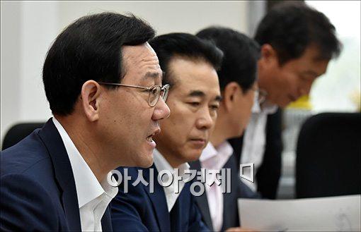 """주호영 """"정의화 국회의장 권한으로 정국 돌파해주길"""""""