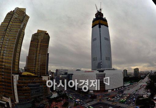 제2롯데월드 열흘 '맛보기 개방' (종합)