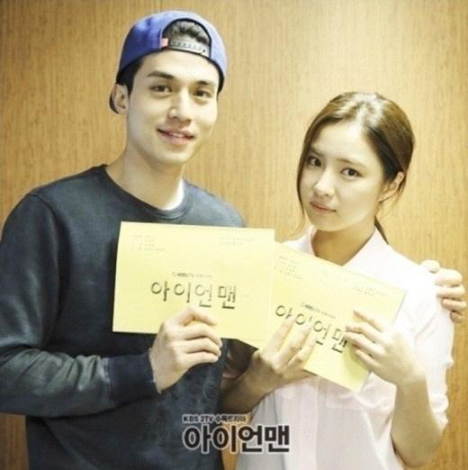 이동욱 신세경[사진=KBS2 '아이언맨' 제공]