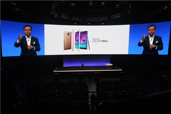 갤럭시노트4 신제품 공개 행사(언팩)