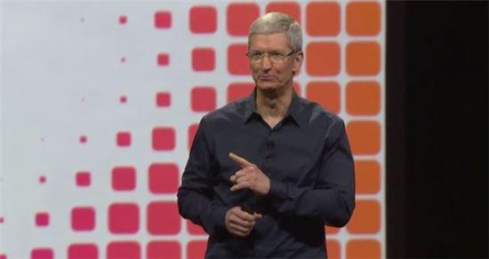 애플 CEO 팀 쿡