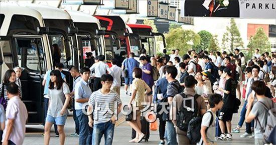 '설 귀성길 혼잡 예상 시간', 지난해 설보다 15.7% 늘어난 인구 이동 '대박'