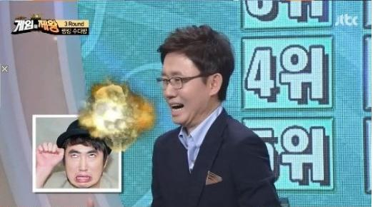 유상무, 장동민 사생활 폭로[사진출처 = JTBC '게임의 제왕' 캡처]