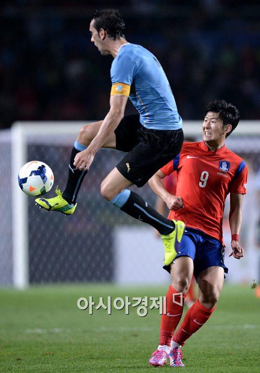 [포토]손흥민,'이거 위험하게 왜이래'