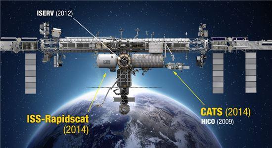 ▲국제우주정거장이 '지구 기후변화 관찰 플랫폼'으로 변화를 모색하고 있다.[사진제공=NASA]
