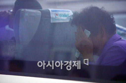 [포토]할머니의 눈물