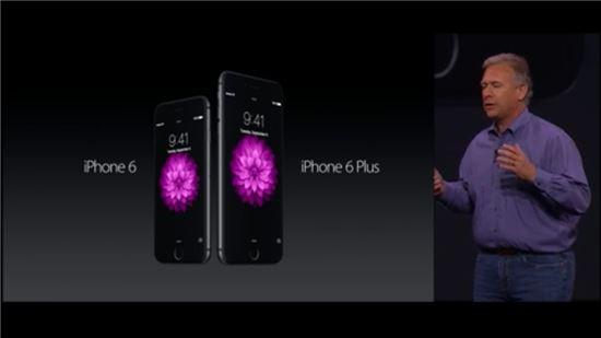아이폰6와 아이폰6 플러스