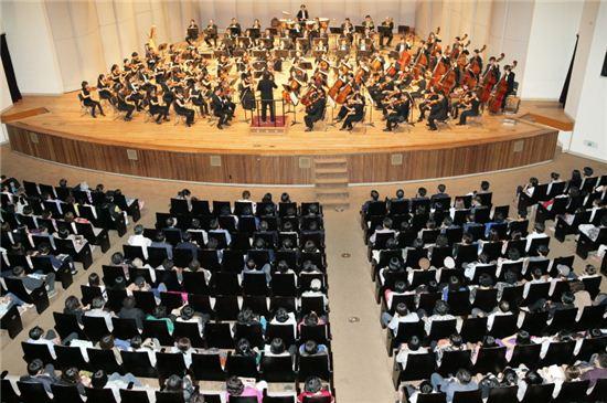 지난해 열린 서울시향교향악단 음악회