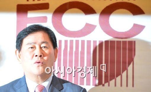 """[포토]최경환, """"세계 경제 회복되면 한국 경제 성장률 4.0%로"""""""