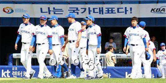 인천 아시안게임 야구대표팀[사진=김현민 기자]