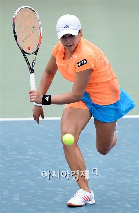 여자 테니스대표팀 한나래[사진=김현민 기자]