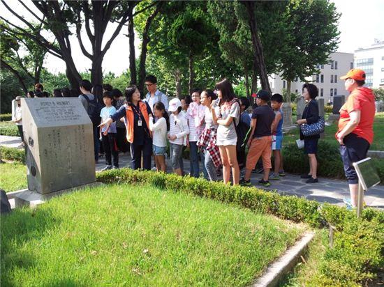 양화진 외국인 선교사 묘역