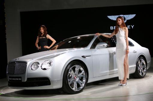 [포토]벤틀리 플라잉스퍼V8 韓 출시…2억5000만원대부터