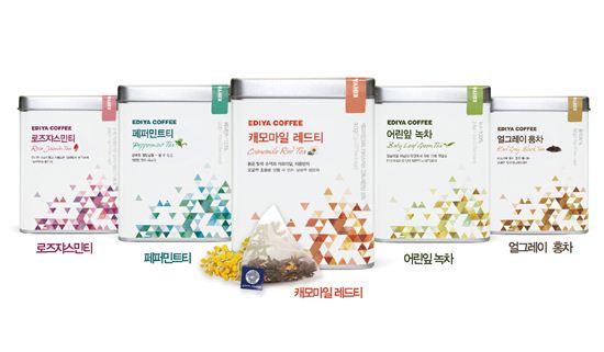 이디야커피의 '프리미엄 티(Tea) 5종'
