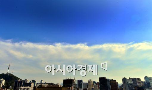 [포토]'이상한 하늘'