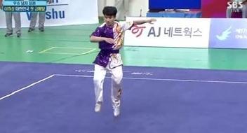 이하성 금메달[사진출처=SBS 방송 중계 화면 캡처]