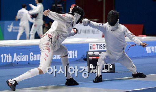[포토]박경두,'빠르고 정확한 득점'