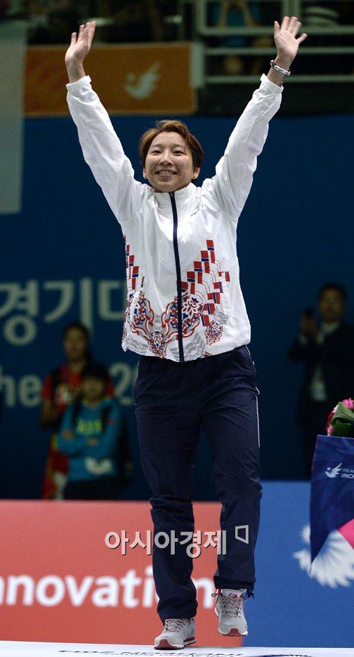 [포토]이라진,'내가 금메달이다!'