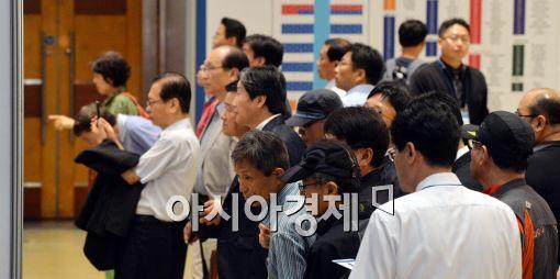 [포토]취업박람회 찾은 구직자들