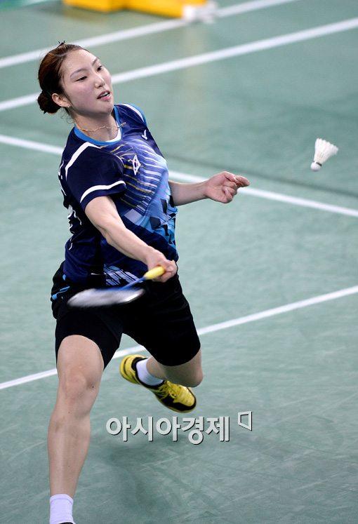[포토]성지현,'다 받아주마'