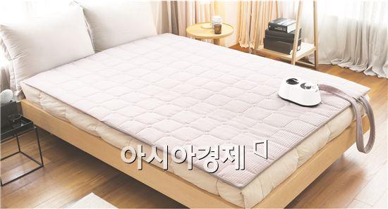 귀뚜라미, 명품 온수매트 '따솜' 침대형