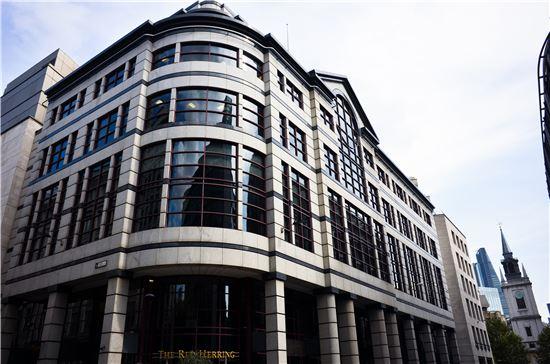 영국보험자협회(ABI)가 위치한 건물.