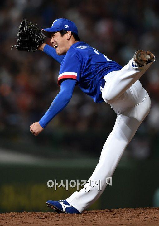 [포토]김광현,'역동적인 피칭'