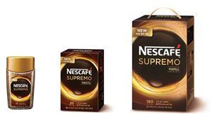롯데네슬레코리아가 출범 이후 첫 신제품인 네스카페 수프리모 골드락을 선보였다.