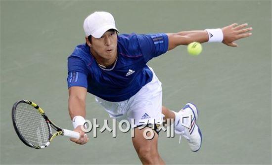 남자 테니스대표팀 임용규[사진=김현민 기자]