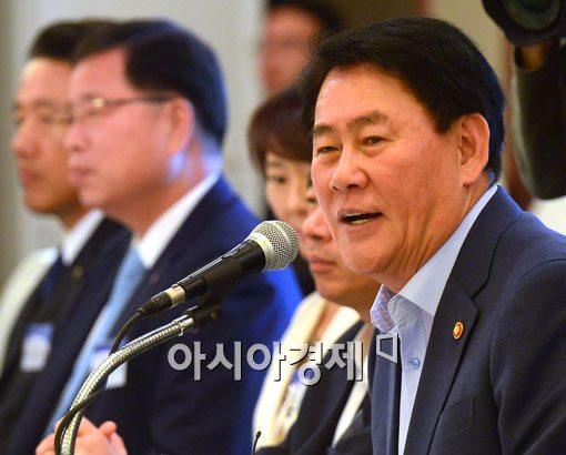 """[포토]최경환 """"과감한 투자 당부"""""""