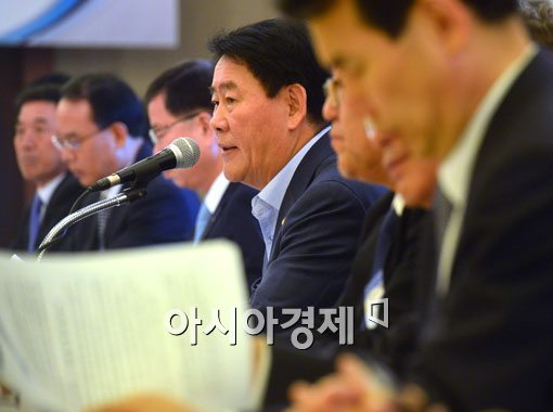"""[포토]최경환 """"기업가 정신 갖고 과감한 투자 당부"""""""