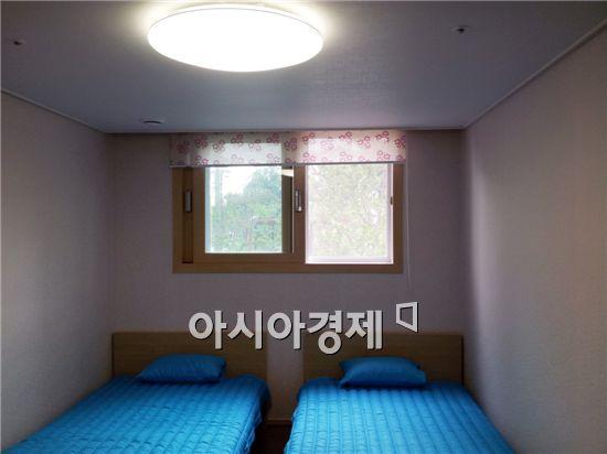 2014인천아시아경기대회 선수촌·미디어촌에 설치된 롤스크린