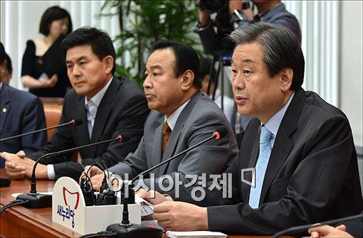 [포토]발언하는 김무성 대표
