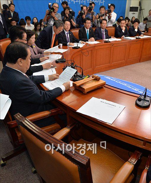 [포토]회의불참한 박영선 원내대표
