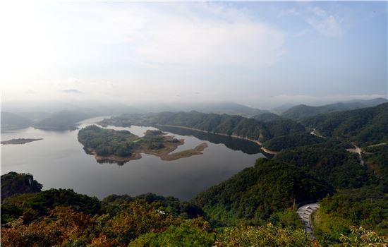 아름다운길에 뽑힌 옥정호