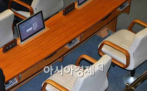 [포토]본회의도 불출석한 박영선 원내대표