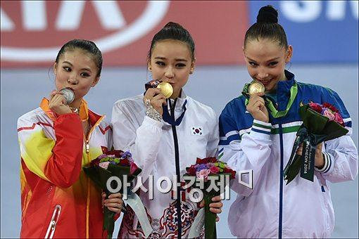 [포토]금메달 요정, 손연재